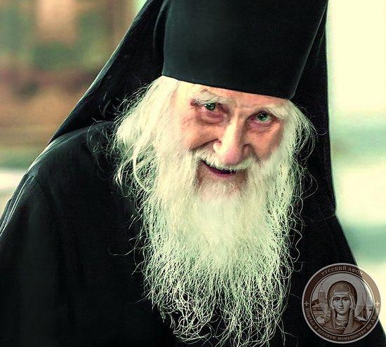Игумен Русского на Афоне Пантелеимонова монастыря схиархимандрит Иеремия (Алехин)