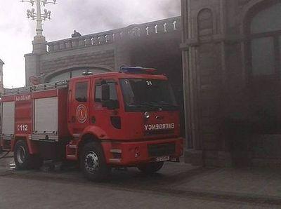 В Тбилиси произошел пожар в кафедральном соборе Святой Троицы