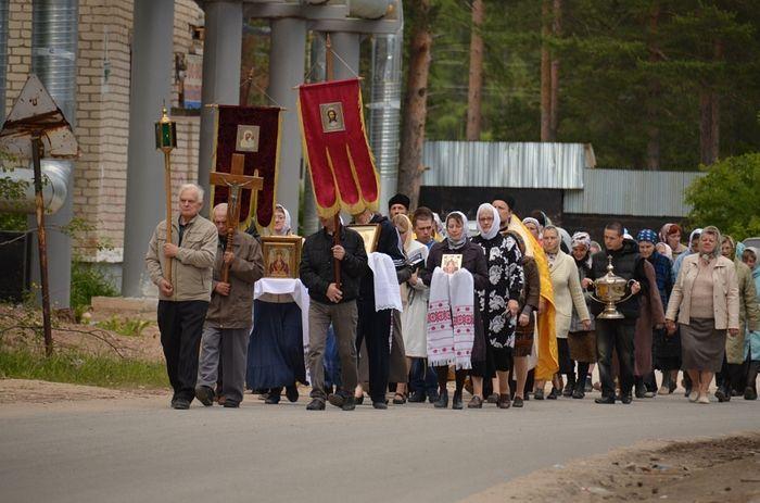 Крестный ход в Савинском