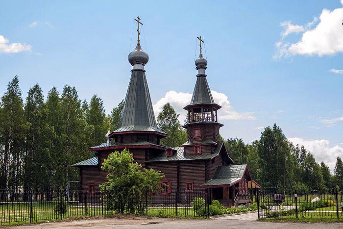 Храм св. Иоанна Богослова в Плесецке