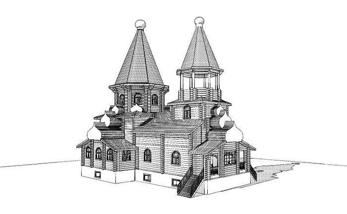Проект Крестовоздвиженского храма