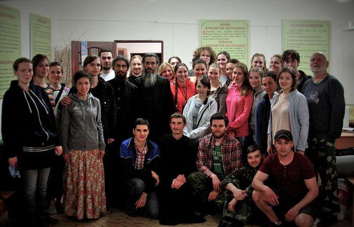 Сретенские волонтеры в гостях у отца Антония