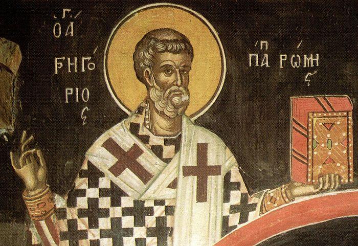 Святитель Григорий Двоеслов, папа Римский