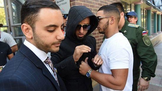 Muhammad Ibrahim leaves court. Photo: Nick Moir