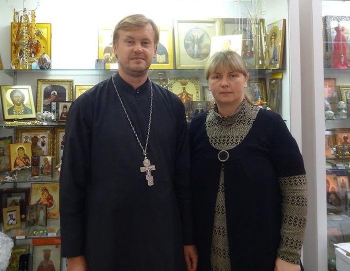 О. Валерий Шемчук и Ольга Рожнева
