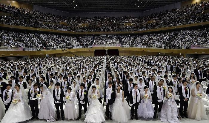 Mass Wedding of Unificationists