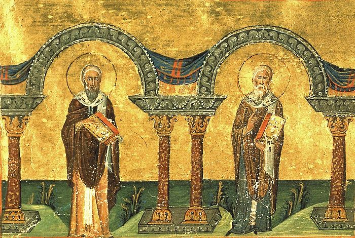 St. Athanasius and Cyril of Alexandria