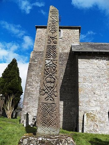 Bewcastle 7th - century cross
