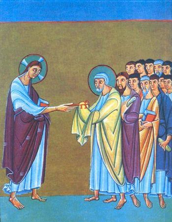 Lindisfarne Gospel (Apostle Peter)