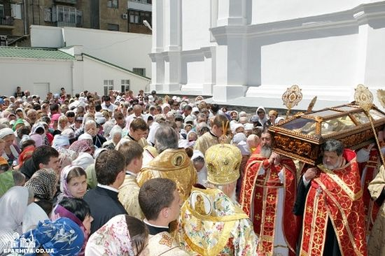 Odessa. Dormition Cathedral. Day of commemoration of the righteous St. Jonah Atamansky