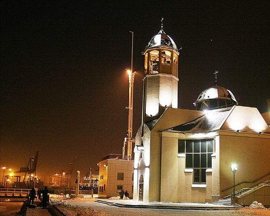 Восстановленный Свято-Никольский храм. Одесса