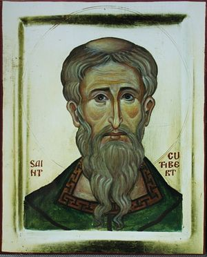 St. Cuthbert (by Aidan Hart)