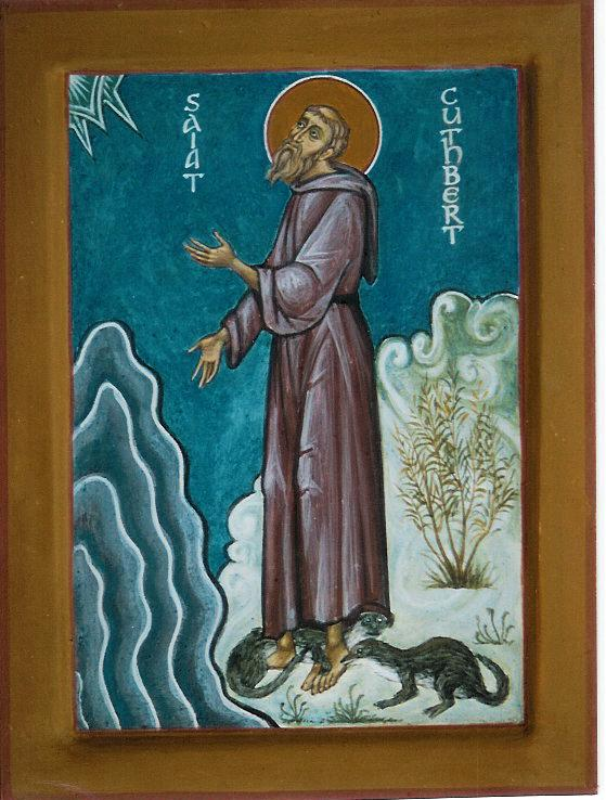 Image result for saint cuthbert orthodox icon