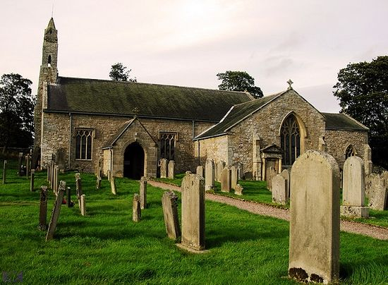 St. Cuthbert's Church in Elsdon