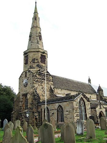 St. Cuthbert's Church in Halsall
