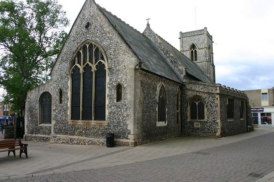 St. Cuthbert's Church in Thetford