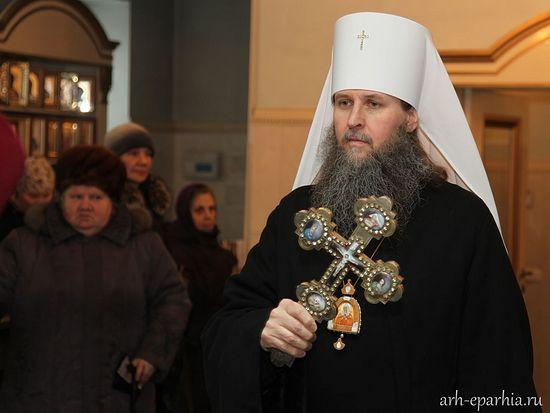 Митрополит Архангелски и Холмогорски Данило. Фото: arh-eparhia.ri
