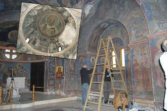 Оштећена Црква Светог Саве чека обнову