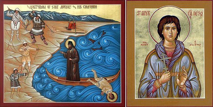 Святые мученики Ювеналий Аляскинский и Пётр Алеут