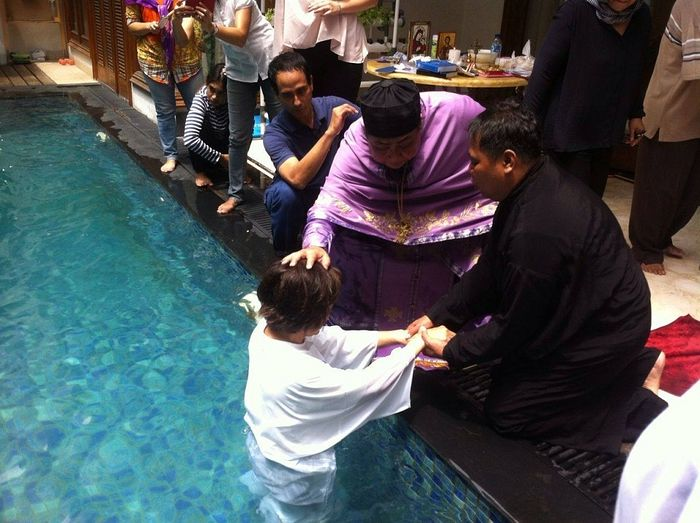 PICTURES: More Orthodox Baptisms in Indonesia