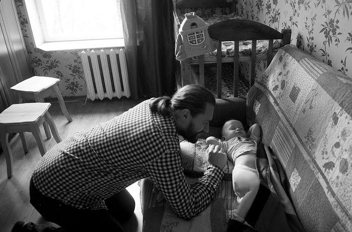 С младшим сыном