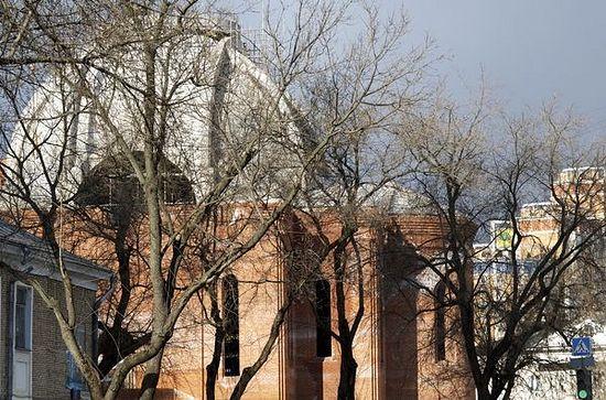 Храм Андрея Рублёва когда-нибудь станет самым большим в районе Раменки: 3000 квадратных метров — это треть Храма Христа Спасителя