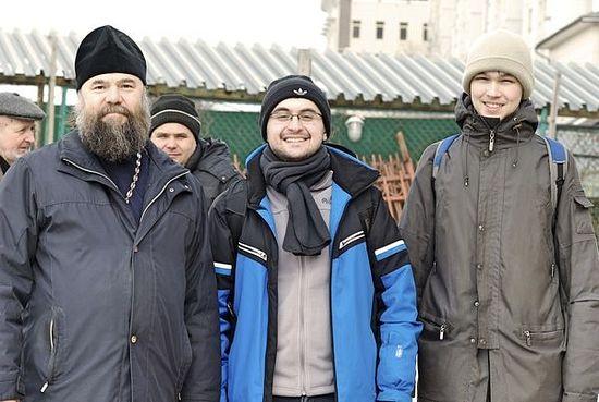 Отец Андрей, Костя и Дима