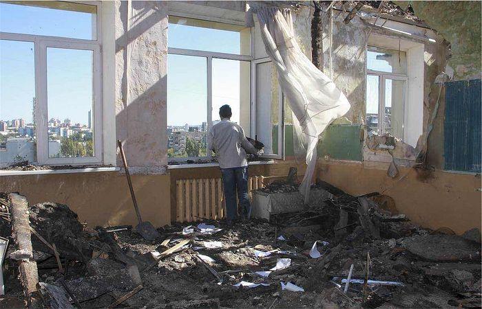 Школа в Донбассе