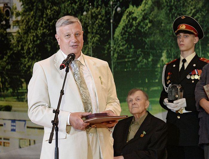 Писатель Александр Сегень на вручении Патриаршей премии по литературе