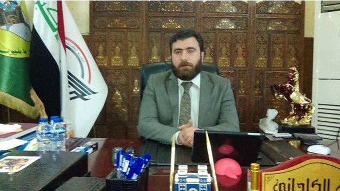 """Командир """"Вавилонской бригады"""" Райан аль-Кильдани."""