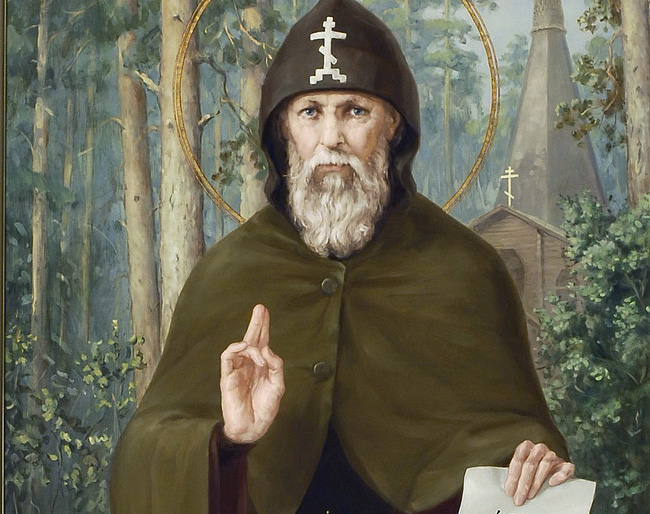 Преподобный Серафим Вырицкий