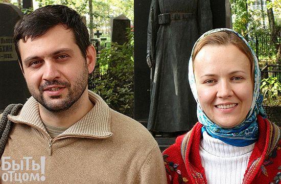 Владимир Легойда с супругой Анастасией. Фото из личного архива