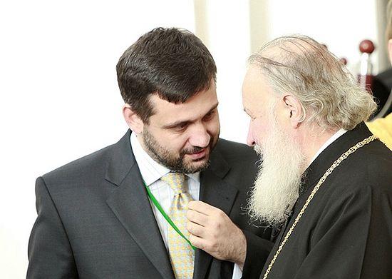 Владимир Легойда и Патриарх Московский и всея Руси Кирилл