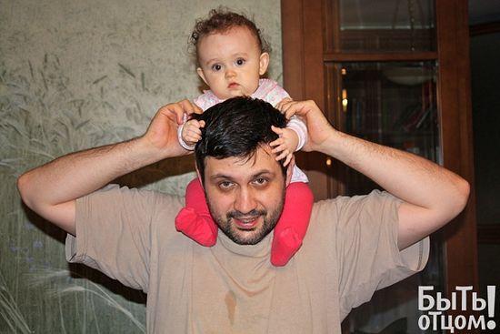 Владимир Легойда с дочкой Аней. Фото из личного архива
