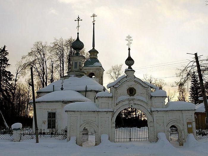 Кладбищенский храм Петра и Павла не закрывался всё советское время