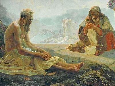 Праведный Иов: образ надежды через страдание