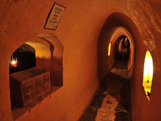 Зверинецкие пещеры. Главная улица