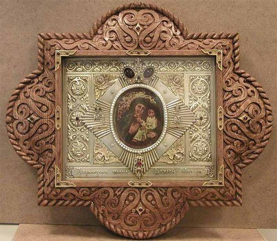 Образ Зверинецкой иконы Богородицы