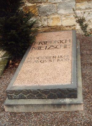 Могила Фридриха Ницше