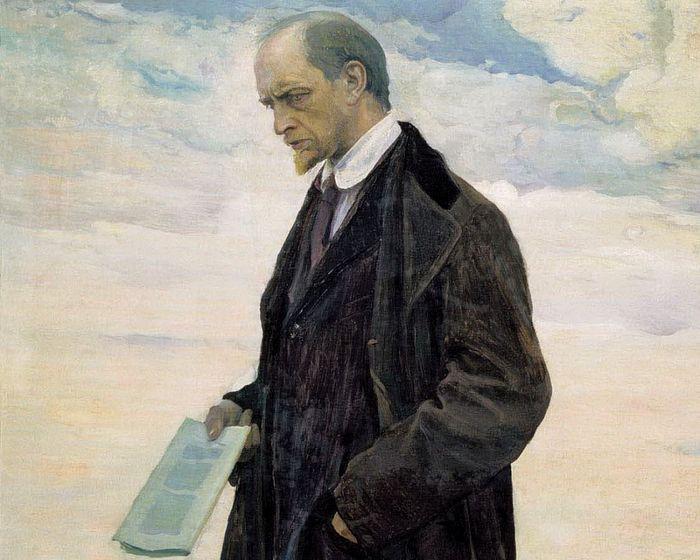 Нестеров М. Мыслитель. Портрет Ивана Александровича Ильина. 1921-1922
