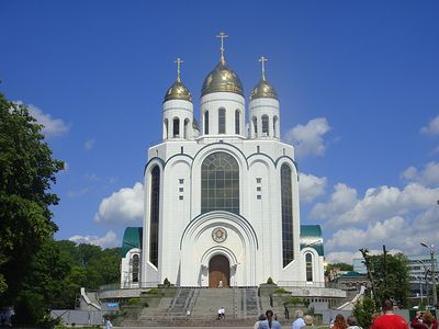 Пастор в Калининграде перешел в православие