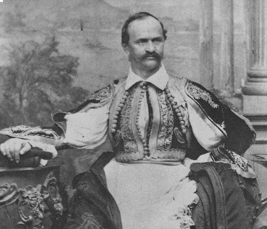 Оттон в 1865 г.