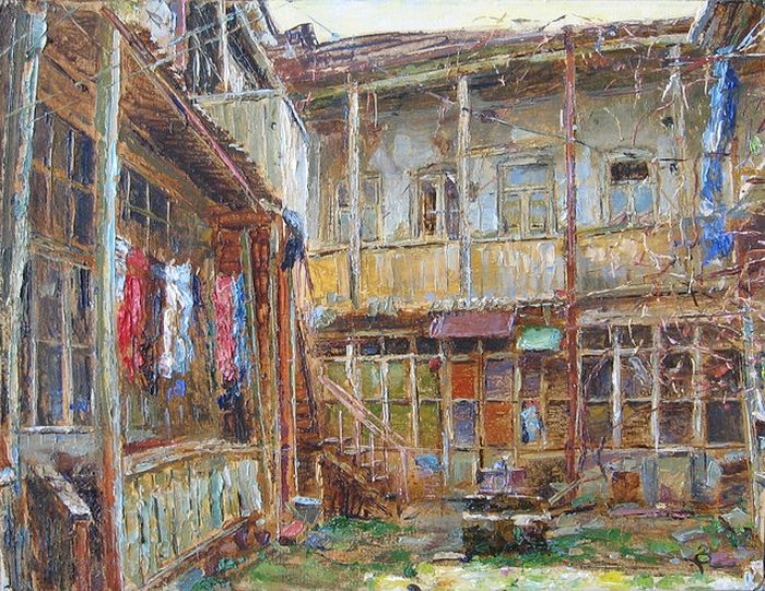 Дом в старом Тбилиси