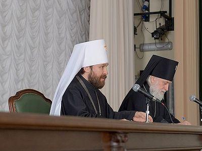 Выступление митрополита Волоколамского Илариона в Московской духовной академии 20 апреля 2016 года