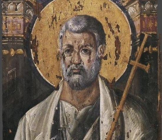 Апостол Петр. VI век. Монастырь св. Екатерины. Синай