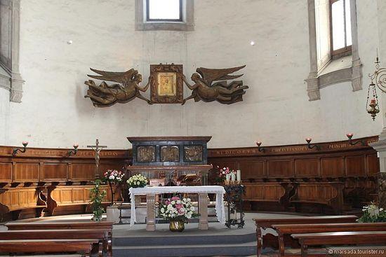 Общий вид часовни Святого Луки