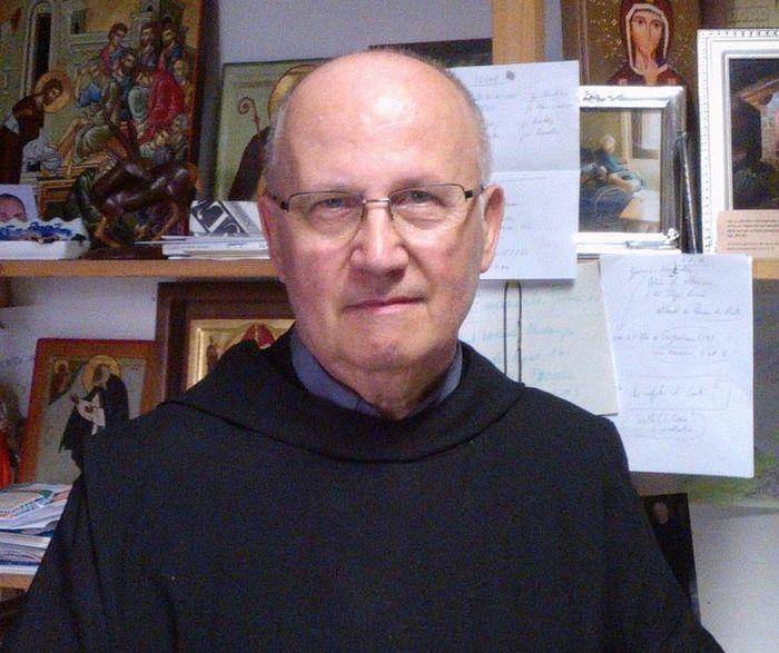 Cвященник Джузеппе Пегораро (Giuseppe Pegoraro), бенедиктинский монах и иконописец из Падуи. Фото: Анатолий Холодюк