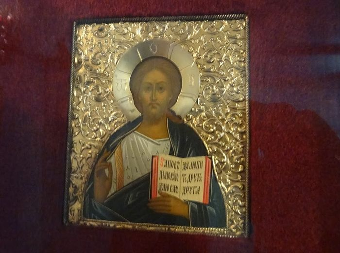 Икона, подаренная Государём Императором Николаем II