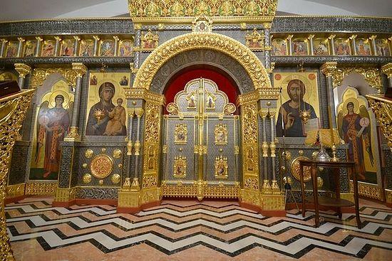 Доњи храм сабора у част новомученика и исповедника Руске Цркве