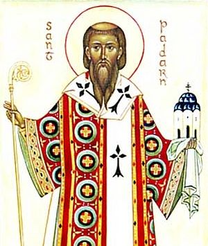 An icon of St. Paternus